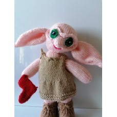 Dobbie the house elf - PDF Knitting Pattern