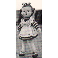 Belinda Knitted Doll Pattern