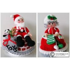 Santa & Mrs Claus  (PDF emailed)