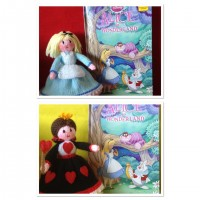 Alice in Wonderland/Queen of Hearts & The Mad Hatter Knitting Pattern (PDF or PRINTED)