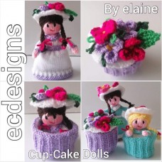 Cup-Cake-Dolls (PDF Emailed)