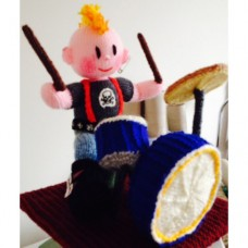 Drummer Knitting Pattern