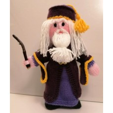 Albus Dumbledore PDF Knitting Pattern by Elaine