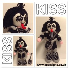 Gene Simmons KISS Knitting Pattern