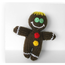 FREE Ginger bread man Knitting Pattern