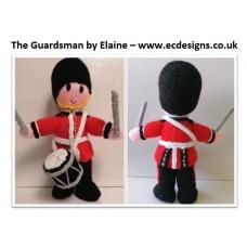 The Guardsman (Drummer) PDF Knitting Pattern