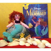 The Little Mermaid Knitting Pattern (PDF or PRINTED)
