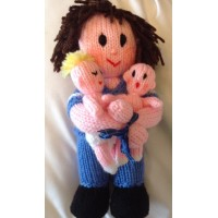 The Midwife & Babies Toy Knitting Pattern