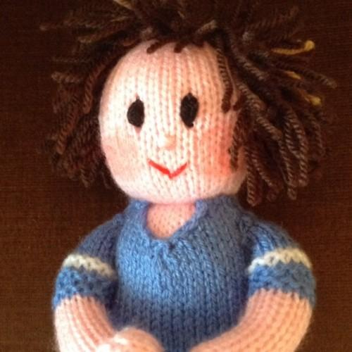 Midwife Babies Toys Dolls Knitting Pattern