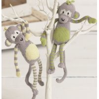 FREE Monkey Toy Knitting Pattern