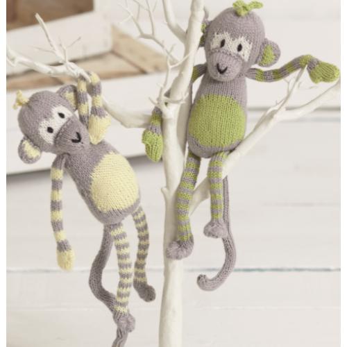 Free Monkey Knitting Pattern