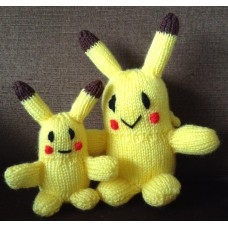 Pokémon Pikachu Knitting Pattern