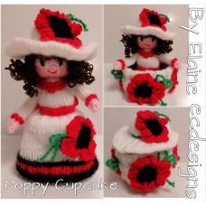Poppy Cupcake (PDF emailed)
