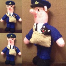 Postman Pat & Cat Knitting Pattern