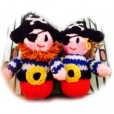 Mermaid & Pirate Mini Knit Dolls Knitting Pattern