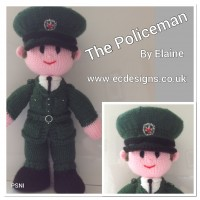 PSNI Male Officer PDF Knitting Pattern (Emailed)