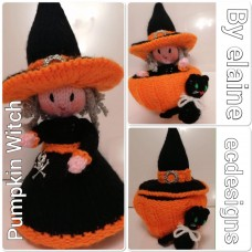 Pumpkin Witch (PDF emailed)
