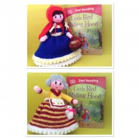 Little Red Riding Hood &  Granny Knitting Pattern (PDF or PRINTED)