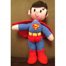 Superman Toy Knitting Pattern