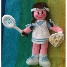 The Tennis Player Knitting Pattern by Elaine Munn